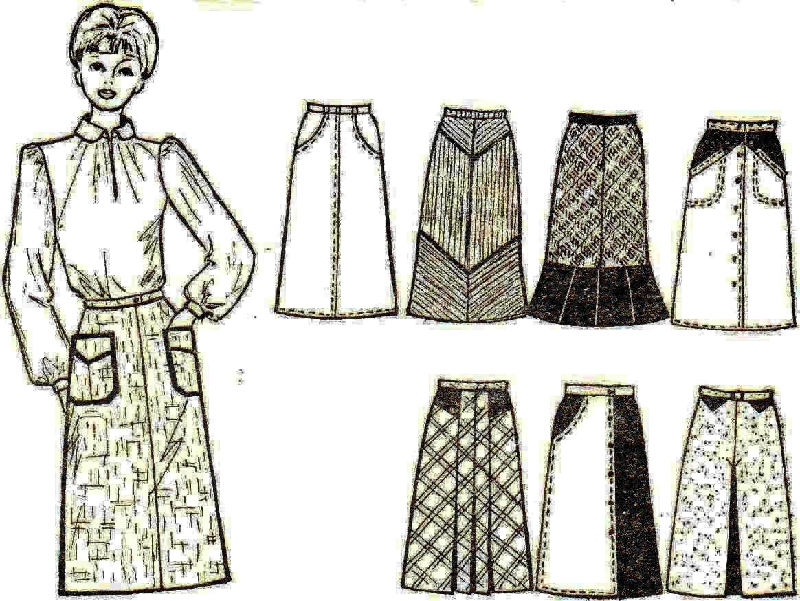 Как сшить юбку своими руками для начинающих