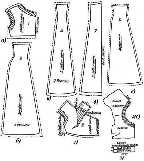 Выкройка юбки шестиклинки на 52 размер