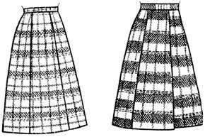 как сшить юбку со шлицей на подкладе